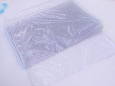 Silver - Organza Table Runners - ( 14 inch x 108 inches )