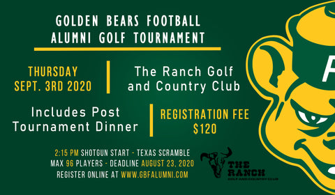 GBF Alumni Golf Tournament Registration Fee