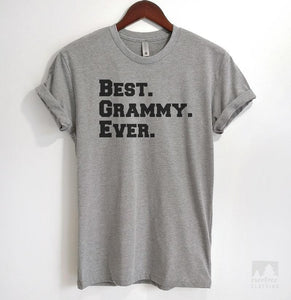 Best Grammy Ever Heather Gray Unisex T-shirt