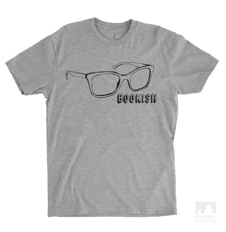 Bookish Heather Gray Unisex T-shirt
