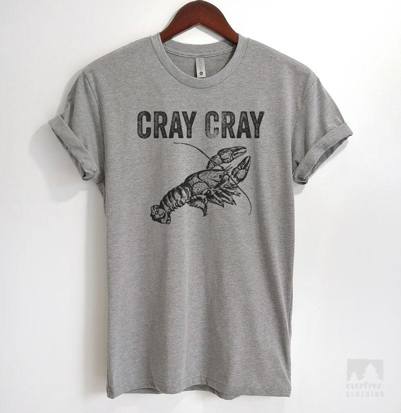 Cray Cray Heather Gray Unisex T-shirt