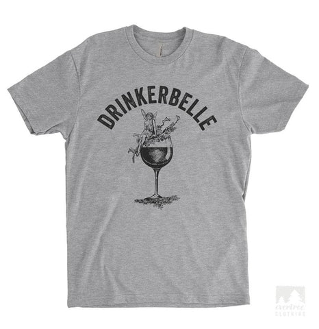 Drinkerbelle Heather Gray Unisex T-shirt