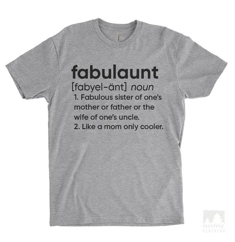 Fabulaunt Definition Heather Gray Unisex T-shirt
