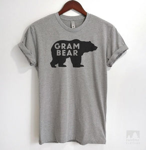 Gram Bear Heather Gray Unisex T-shirt