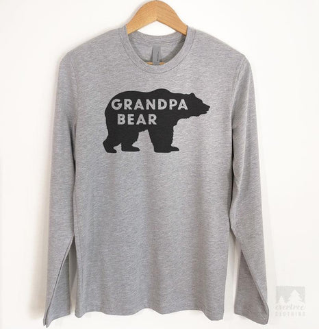 Grandpa Bear Long Sleeve T-shirt