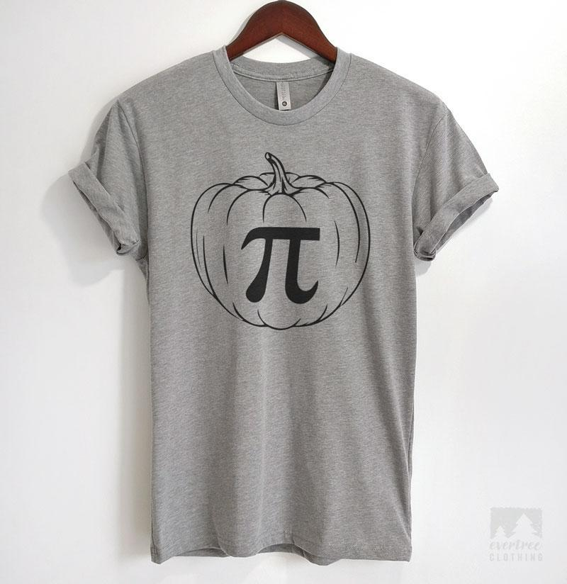 1777f7bc Pumpkin Pi T-shirt or Tank Top | Evertree Clothing
