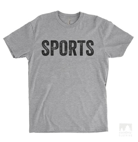 Sports Heather Gray Unisex T-shirt