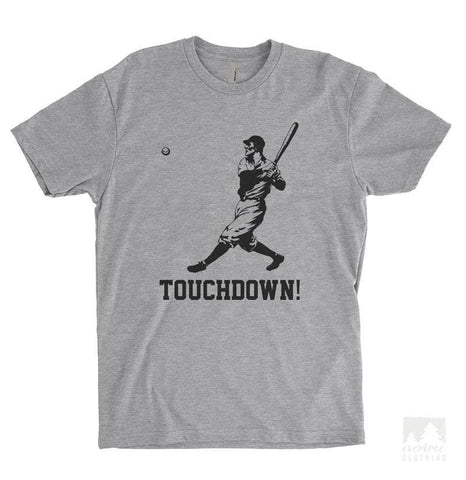 Touchdown Heather Gray Unisex T-shirt