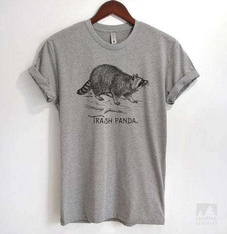 Trash Panda Heather Gray Unisex T-shirt