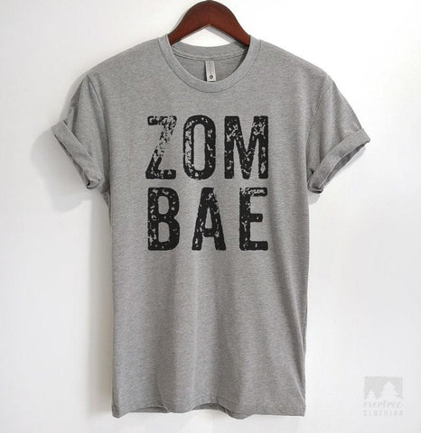 Zombae Heather Gray Unisex T-shirt