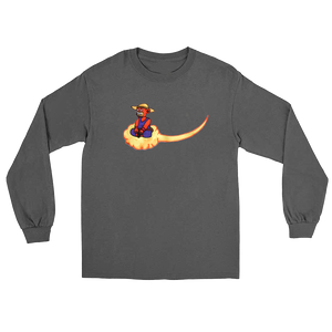 EMBROIDERED CLOUD NINE NIMBUS LONG SLEEVE T SHIRT (ALL COLOURS)