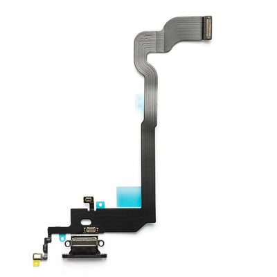 iPhone X Charging Port Flex Cable (Gray) (4168390115392)