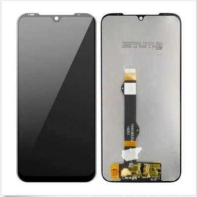 Motorola Moto LCD Touch Screen Digitizer Replacement (Black, Motorola Moto G8 Plus xt2019)