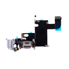 iPhone 6 Charging Port Flex Cable with Headphone Jack (White) (4162566586432)