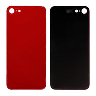 iPhone 8 Plus Replacement Back Glass with Wide Camera Lens Hole (Red) (4168236531776)