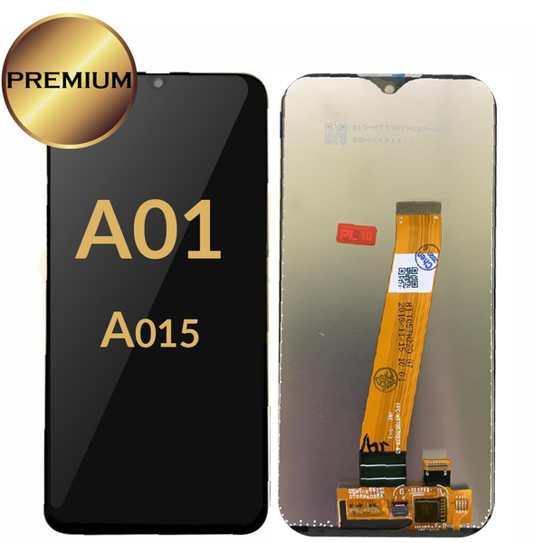 Galaxy A01 (A015/2019) LCD Assembly (BLACK)