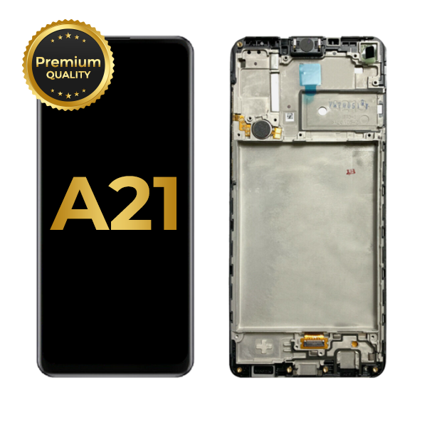 LCD ASSEMBLY WITH FRAME COMPATIBLE FOR SAMSUNG GALAXY A21