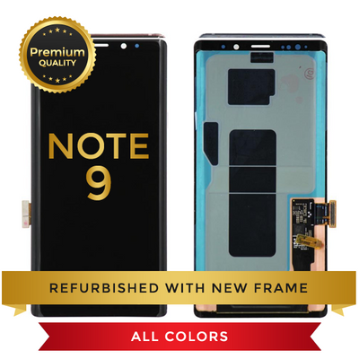 Replacement LCD Digitizer Assembly With Frame, Copper For Samsung Galaxy Note 9
