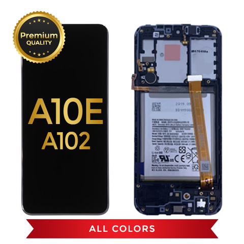 Samsung Galaxy A10E Replacement LCD Screen & Digitizer Assembly (Black)