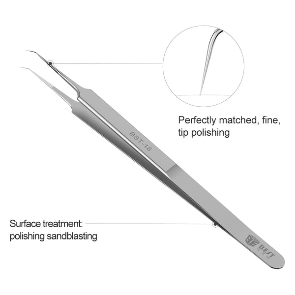 BEST-18 Newest High Quality CE Eyebrow Plucker Good Electric Eyebrow Personalized Cheap Tweezers Eyelash Extension Jump Tweezer