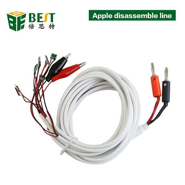 BEST 8 in 1 Professional DC Power Supply Phone Current Test Cable for iPhoneX 8 7 6 Plus 5S 5 4S 4 Repair Tools