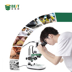 BEST-X6 Video Stereo Trinocular 3D Digital Microscope with Camera