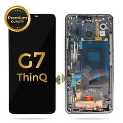 LG G7 ThinQ, Premium Replacement LCD Display Touch Screen Glass Digitizer Assembly (Black)
