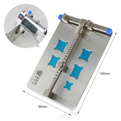 BST-001D DIYFIX Stainless Steel Circuit Board PCB Holder Fixture Work Station for Chip Repair tools