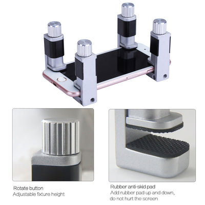 BST-311 4pcs/lot adjustable plastic clip fixture for LCD screen clips for iPhone Samsung iPad tablet phone repair kit