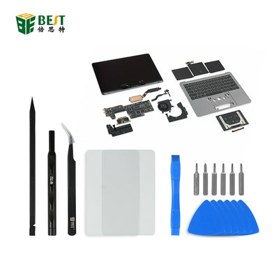 BST-502 Multifunctional precision convenient disassembly tool kit set for macBook pro/air to solve dissassembly problem easier