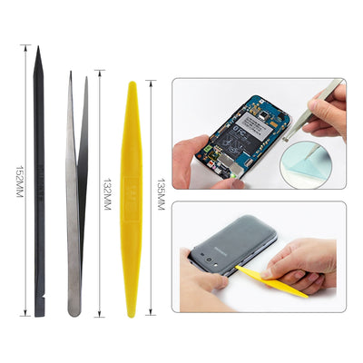 BST-610 13in1 Phone Opening Repair Tools Kit Phone Rotary Stand Holder Screwdriver for iPhone Samsung Electronic Hand Tools Set