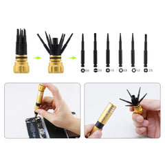 BST-8927A Special Retractable Mini Single Screwdriver Cordless Magnetic multifunction mini screwdriver