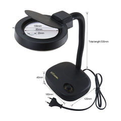 Best-208L 5x/10x 36 LED magnifying glass desk lamp