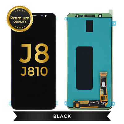 Samsung Galaxy J8 (J810 / 2018) Replacement LCD Screen & Digitizer Assembly (Black)