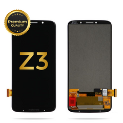 Moto Z3 / Moto Z3 Play Replacement Digitizer LCD Assembly, Black