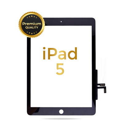 iPad 5 (2017) Premium Touch Screen Glass Digitizer Without Home Button Installed