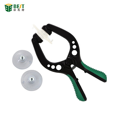 Bst-009 green teardown hand-held suction cup