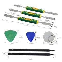 Disassemble Opening Repair Tool kits with Suction Cup, Non-Nylon Pry Tools, Metal Pry Bar BEST-9902