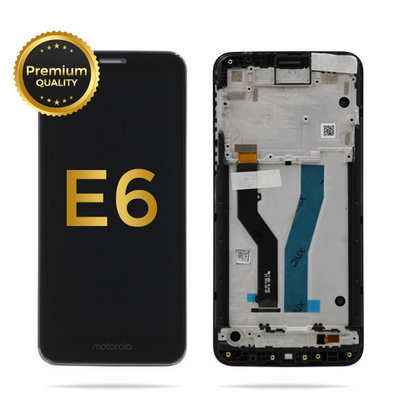 Moto E6 (XT2005-3) LCD Assembly (BLACK)
