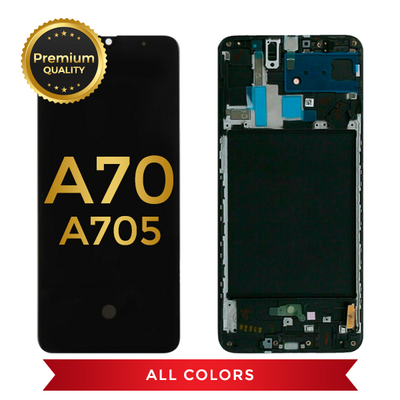 OLED Assembly With Frame For Samsung Galaxy A70 (A705 / 2019) (All Colors)