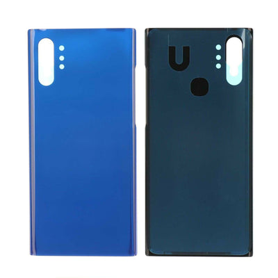 Galaxy Note 10+ N975 Battery Cover Back Glass (AURA BLUE)