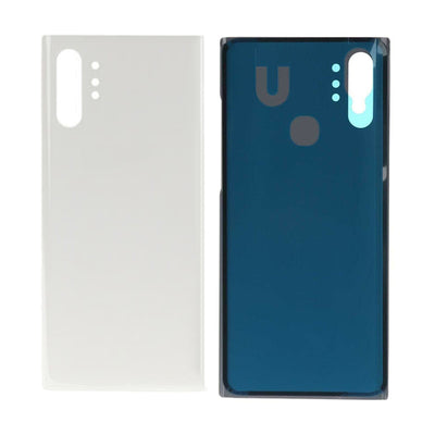 Galaxy Note 10+ N975 Battery Cover Back Glass (AURA WHITE)