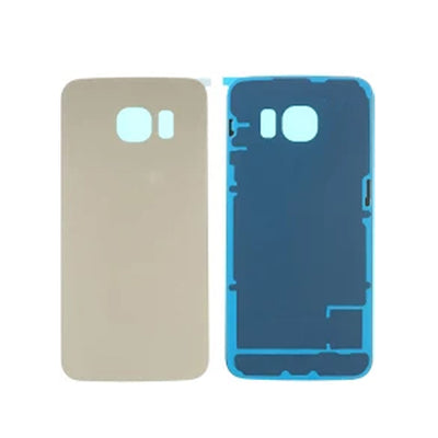 Galaxy S6 Edge G925 Battery Cover w/Adhesive (GOLD)