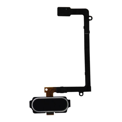 Galaxy S6 Edge Home Button with Flex Cable (Black)