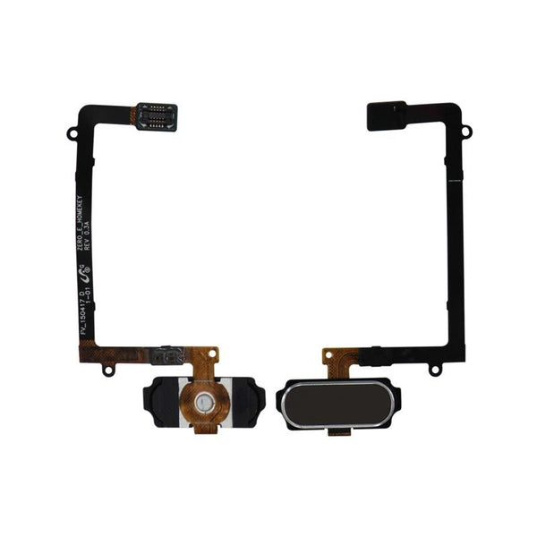 Galaxy S6 Edge Home Button with Flex Cable (Gold)