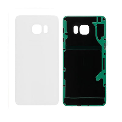 Galaxy S6 Edge Plus G928 Battery Cover w/Adhesive (WHITE)
