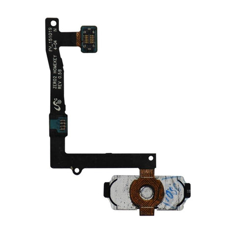 Galaxy S6 Edge Plus Home Button with Flex Cable (White)