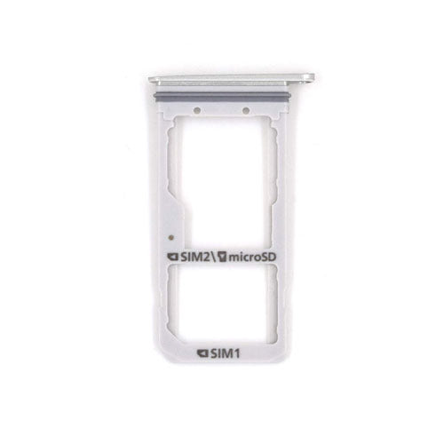 Galaxy S7 Edge SIM & SD Card Tray Holder - (SILVER)