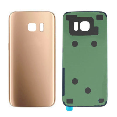 Galaxy S7 G930 Battery Cover w/Adhesive (GOLD)