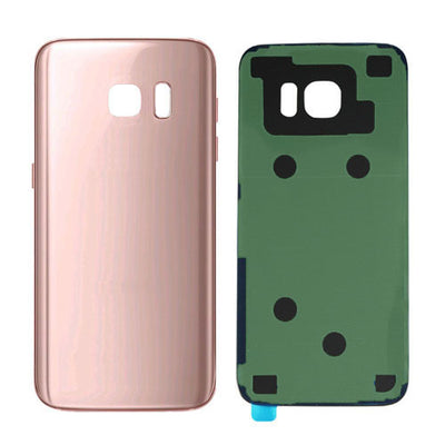 Galaxy S7 G930 Battery Cover w/Adhesive (PINK)